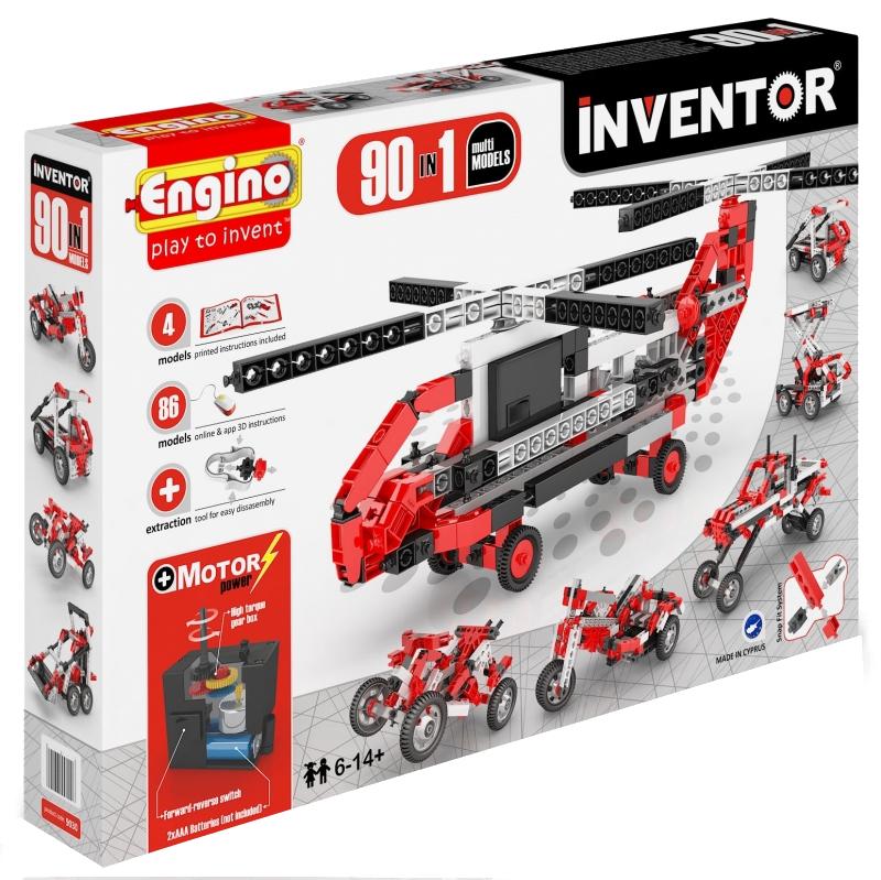 Конструктор ENGINO Inventor Special Edition 9030 90 моделей с двигателем<br>