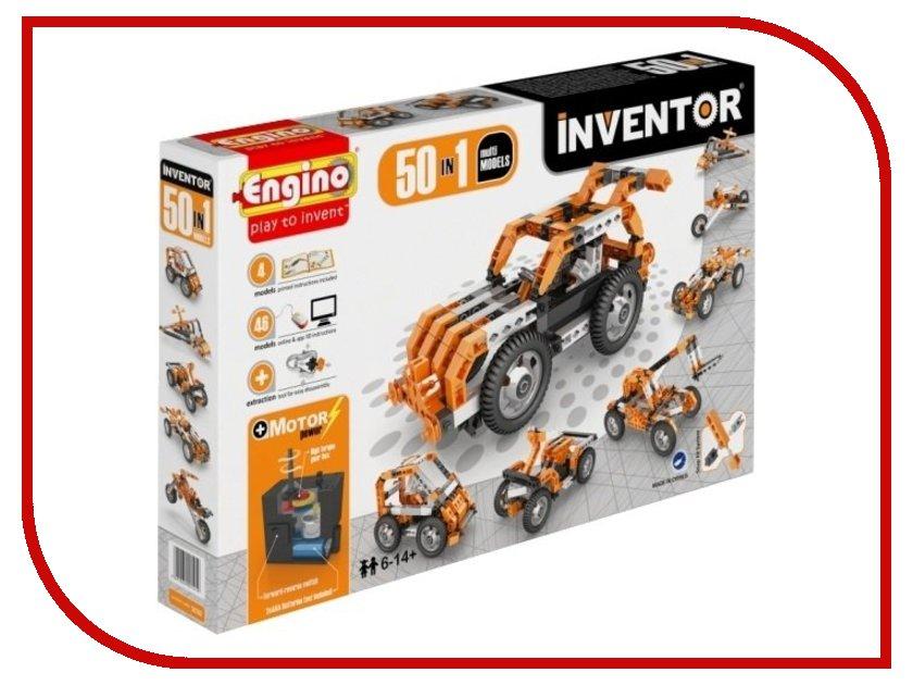 Конструктор Engino Inventor 50 моделей из одного engino конструктор inventor приключения 170 элементов