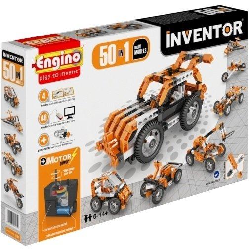 Конструктор Engino Inventor 50 моделей из одного комплекта 5030