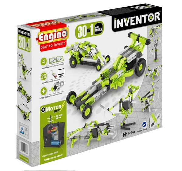 купить Конструктор Engino Inventor 30 моделей из одного комплекта 3030 недорого