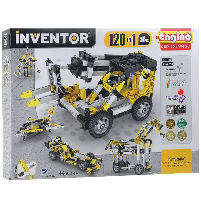 Конструктор ENGINO Inventor Special Edition 12030 120 моделей с двигателем конструктор игрушка engino pico builds inventor мотоциклы