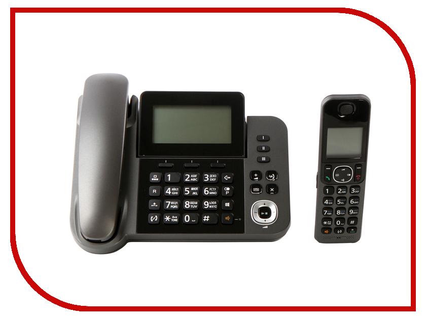 Радиотелефон Panasonic KX-TGF 320 RUM радиотелефон panasonic kx tg8551 белый kx tg8551ruw
