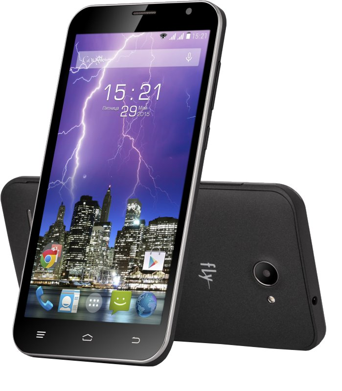 Сотовый телефон Fly FS551 Nimbus 4 Black<br>