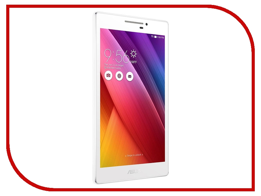 Планшет ASUS ZenPad 7 Z170C White 90NP01Z2-M00370 Intel Atom C3200RK/1024MB/8Gb/Wi-Fi/Bluetooth/Cam/7.0/1024x600/Android