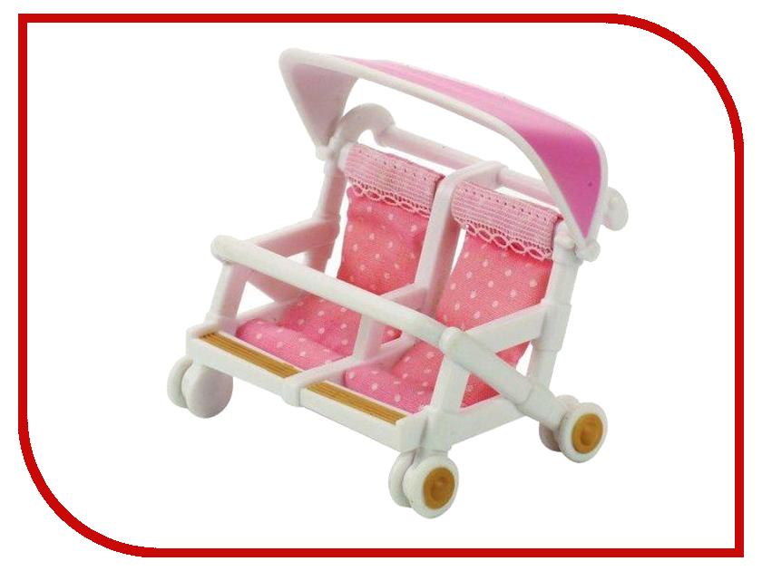 Коляска Sylvanian Families Pink 2920 коляска indigo charlotte duo ch 09 св коричн узор для двойни