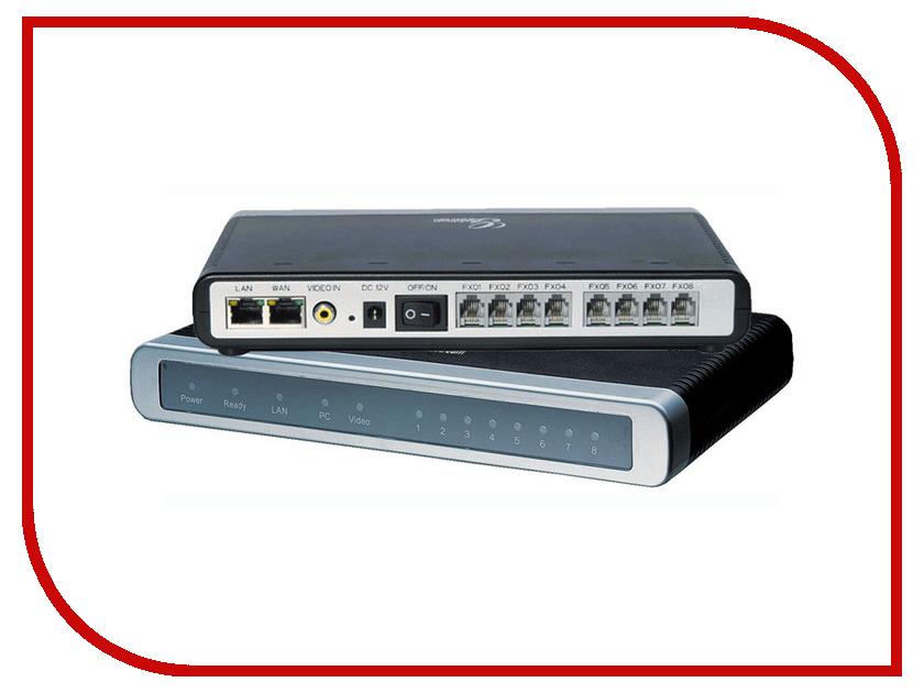 VoIP оборудование Grandstream GXW4108 voip телефон grandstream networks gxp2160