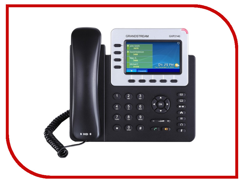 VoIP ������������ Grandstream GXP2140