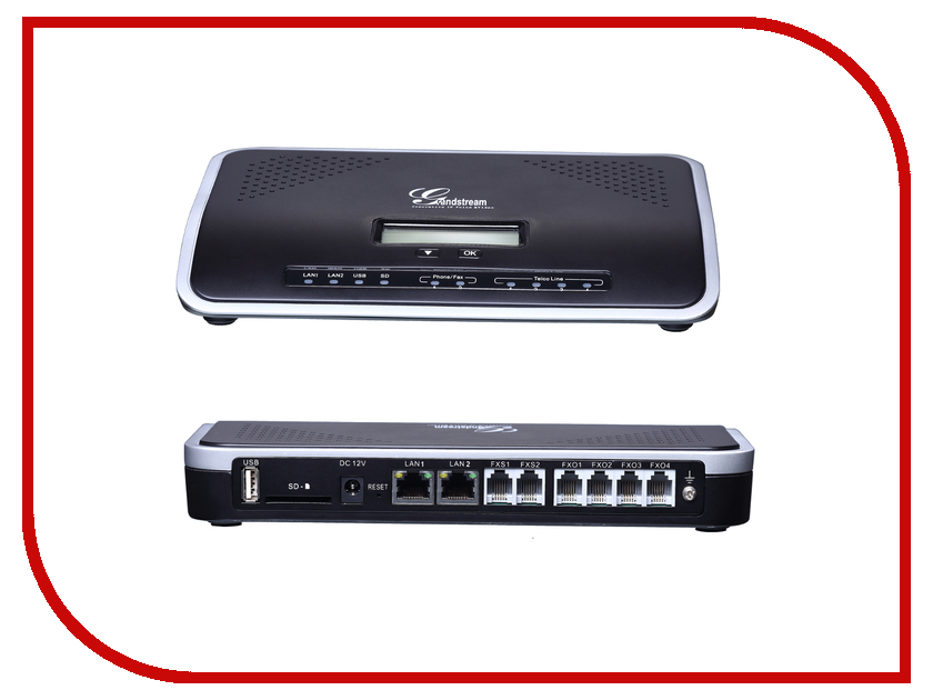 Zakazat.ru: VoIP оборудование Grandstream UCM6104