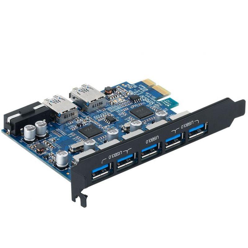 Контроллер Orico PCI-E PVU3-5O2U