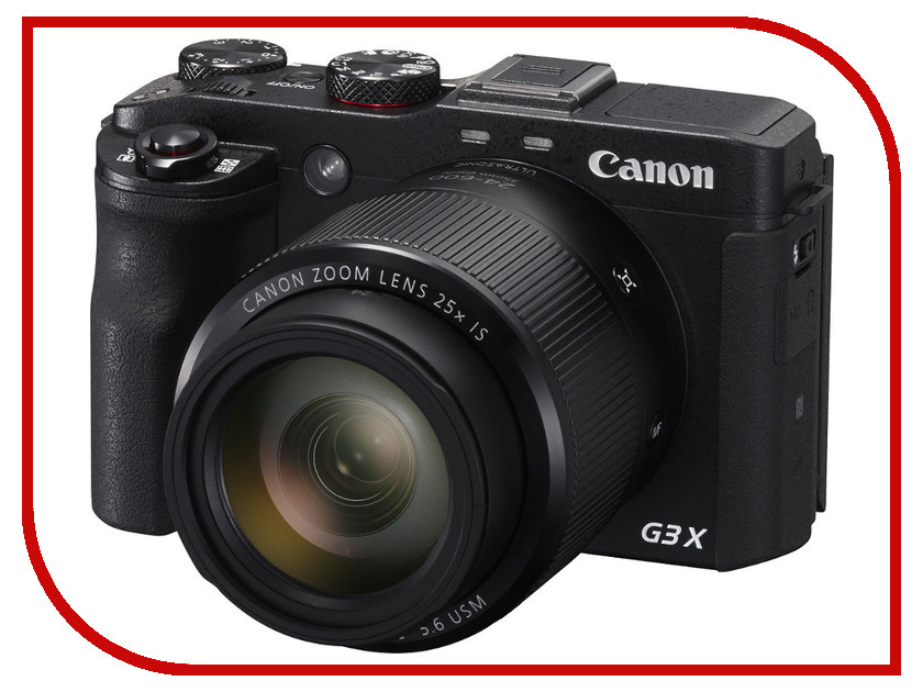 Фотоаппарат Canon PowerShot G3 X фотоаппарат canon powershot sx430 is 20mp 45xzoom черный 1790c002