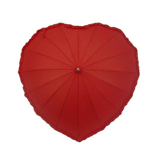 Зонт Эврика Сердце Red 93160