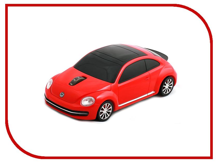 Мышь Lefutur LF2295 Volkswagen The Beetle Red
