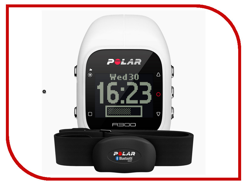 Умные часы Polar A300 HR White polar a300 blk