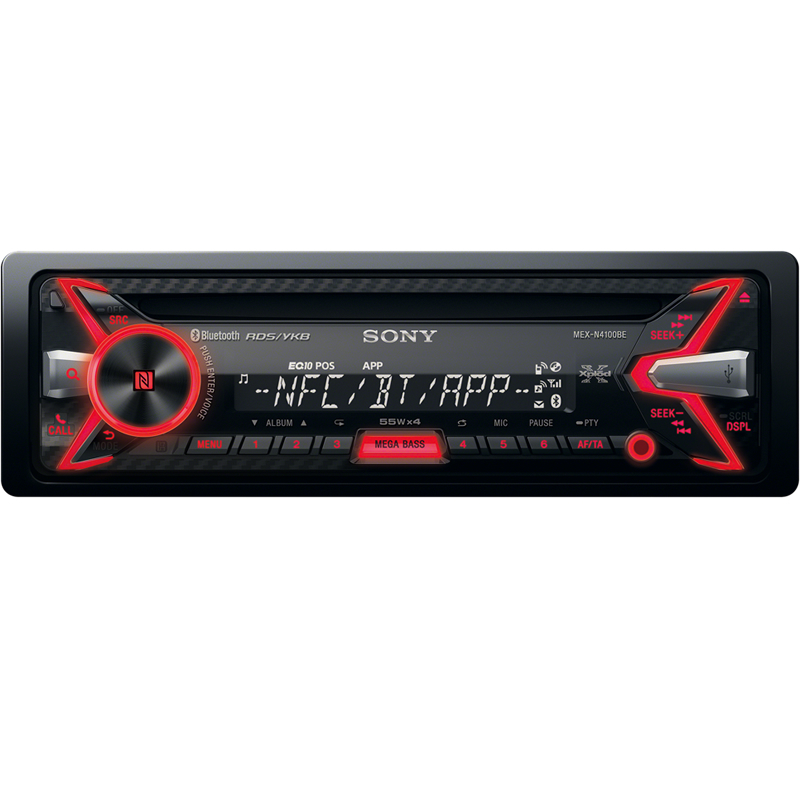 Автомагнитола Sony MEX-N4100BE<br>