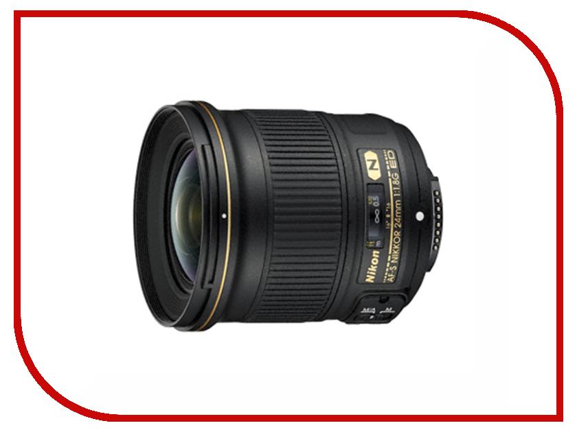 Объектив Nikon Nikkor AF-S 24 mm F/1.8 G ED