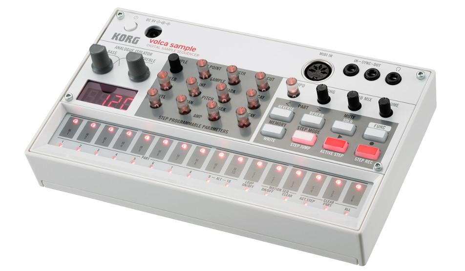 цена на MIDI-контроллер Korg Volca Sample