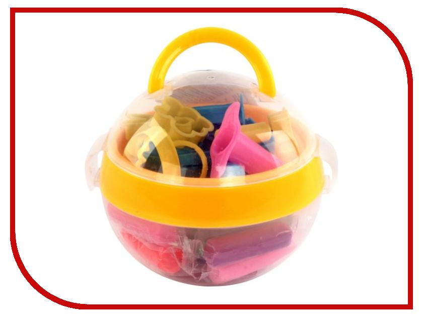 Набор для лепки Color Puppy Тесто для лепки 16 цветов 272г 63934 color puppy тесто для лепки 26 цветов 442г формы ролик