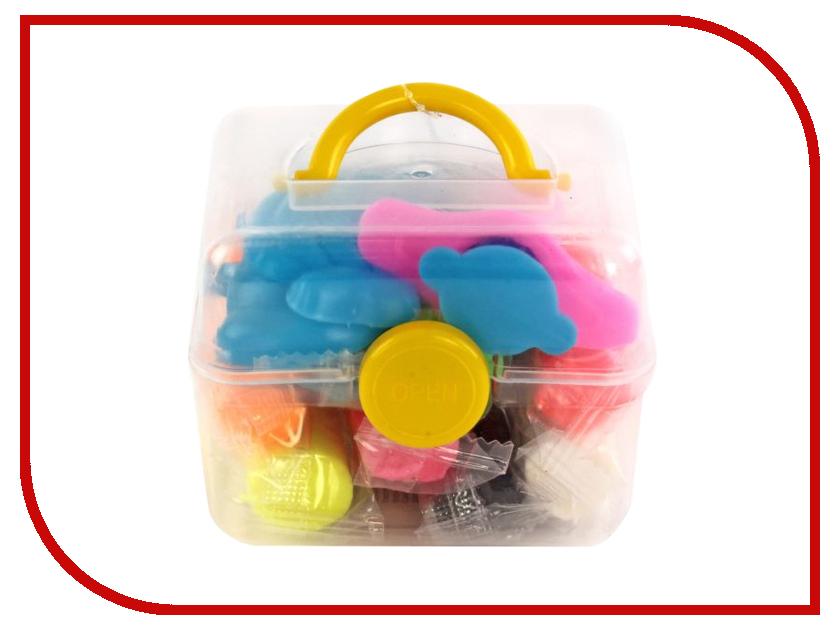 Набор для лепки Color Puppy Тесто для лепки 8 цветов 136г 63935 масса для лепки candy clay набор круассан