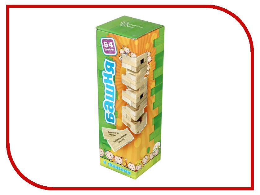 Настольная игра Бэмби Башня с заданиями 7746 смеситель для умывальника milardo sardinia  sarsb00m01