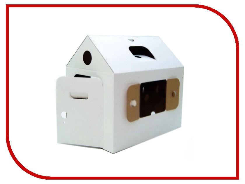 Игрушка Домик Картонный папа Мой первый дом White 4040Б игрушка электронная развивающая мой первый ноутбук