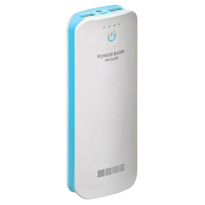 Аккумулятор InterStep PB15600 White-Blue 15600 mAh