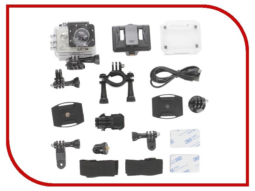 Экшн-камера SJCAM SJ5000 WiFi Silver sjcam sj5000 plus black экшн камера