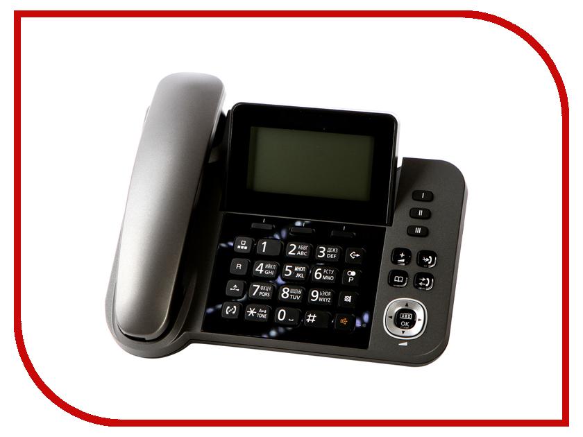 Радиотелефон Panasonic KX-TGF310RUM радиотелефон panasonic kx tg8551 белый kx tg8551ruw