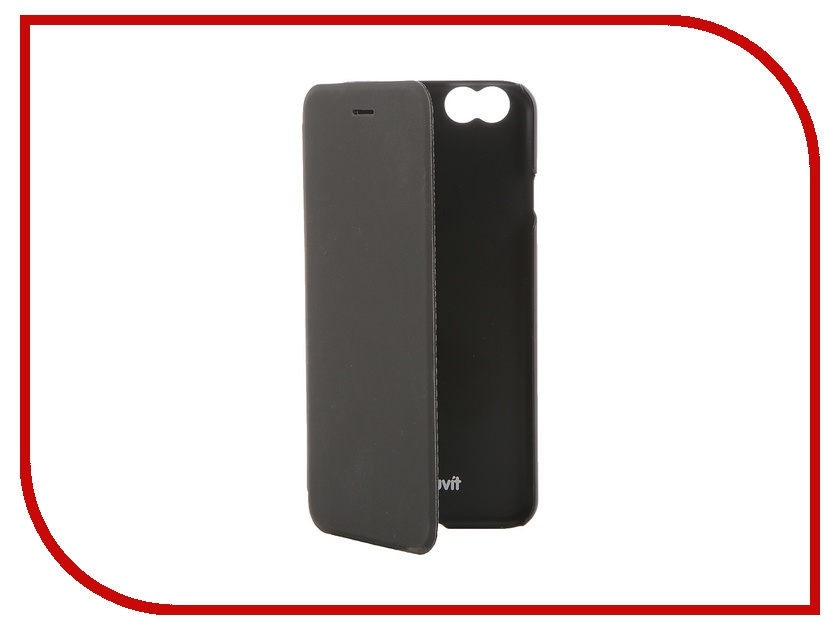 Аксессуар Чехол Muvit Easy Folio Case для iPhone 6 Black MUEAF0124<br>