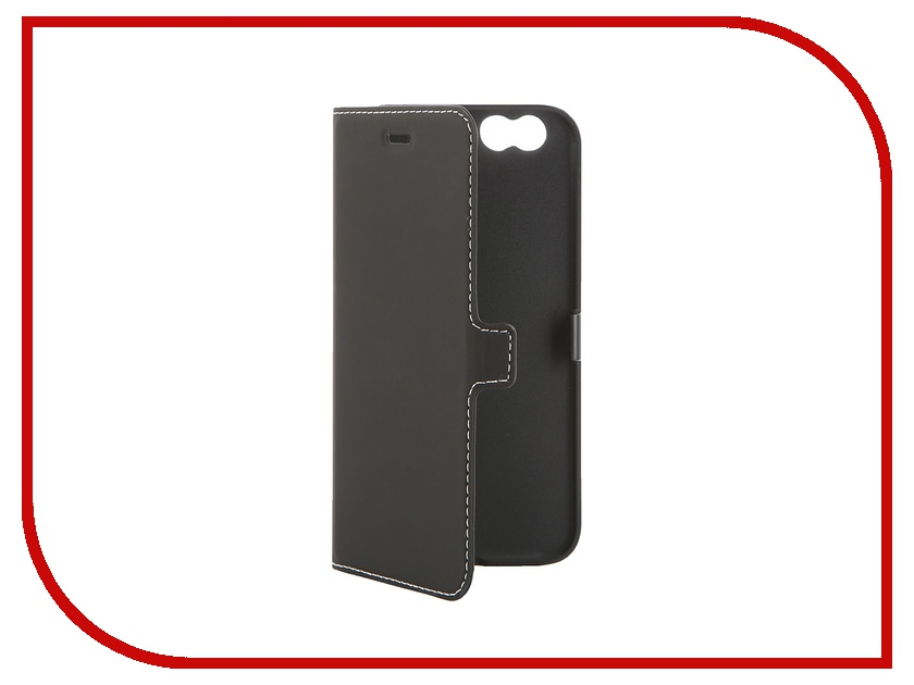 Аксессуар Чехол Muvit Smooth Folio Slim Case для iPhone 6 Black MUSLI0561<br>