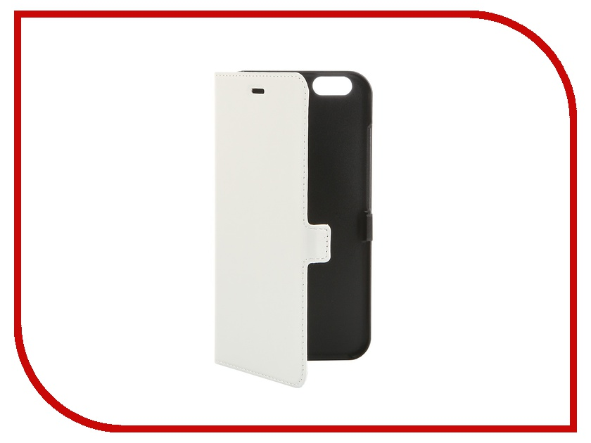 Аксессуар Чехол iPhone 6 Plus Muvit Smooth Slim Folio Case White MUSLI0564 muvit muvit smooth slim folio для iphone 6 plus 6s plus