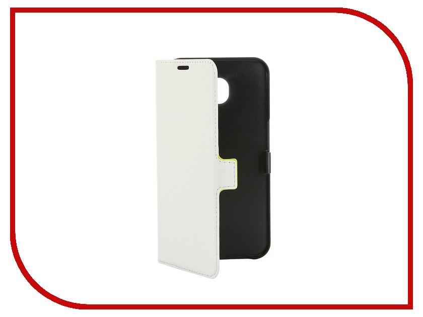 Аксессуар Чехол Samsung G920F Galaxy S6 Muvit Slim Folio Case White MUSLI0641 аксессуар чехол книжка iphone 6 plus muvit wallet folio stand case black musns0073