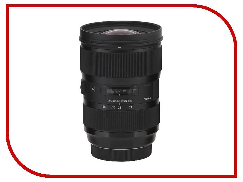 Объектив Sigma Nikon AF 24-35 mm F/2.0 DG HSM ART<br>