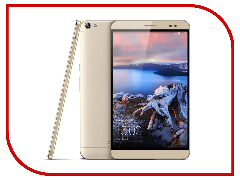 Планшет Huawei MediaPad X2 7.0 LTE 32Gb GEM-701L Champagne Huawei HiSilicon Kirin 930 2.0 GHz/3072MB/32Gb/Wi-Fi/LTE/Bluetooth/Cam/7.0/1920x1200/Android<br>