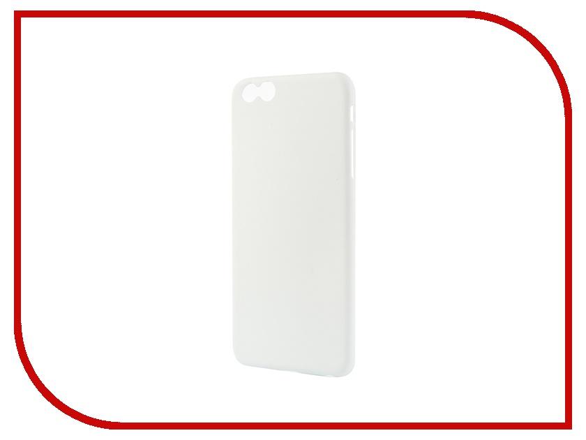 Аксессуар Чехол iPhone 6 Plus Muvit Thingel Case White MUSKI0347