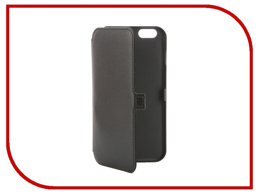 Аксессуар Чехол Muvit Slim Folio Case для iPhone 6 Plus Black MUSLI0546 muvit muvit smooth slim folio для iphone 6 plus 6s plus