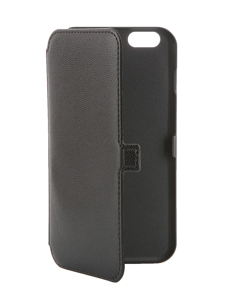 Аксессуар Чехол Muvit Slim Folio Case для iPhone 6 Plus Black MUSLI0546<br>