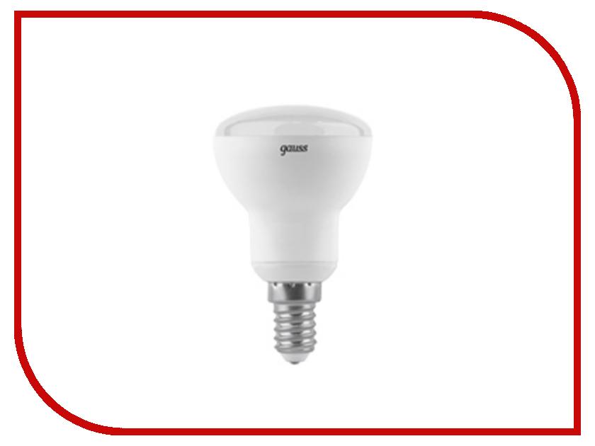 Лампочка Gauss LED R50 6W E14 2700K 106001106 лампочка gauss elementary 6w e14 220v 2700k ld53116