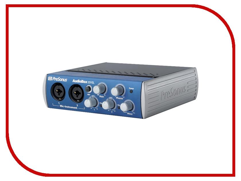 Звуковая карта PreSonus AudioBox 22VSL<br>