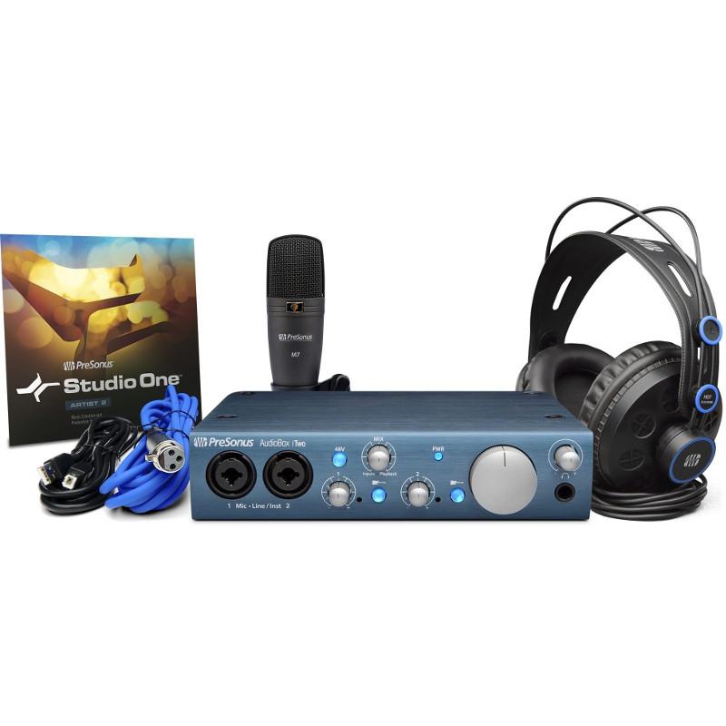 Комплект для звукозапсиси PreSonus AudioBox iTwo Studio от Pleer