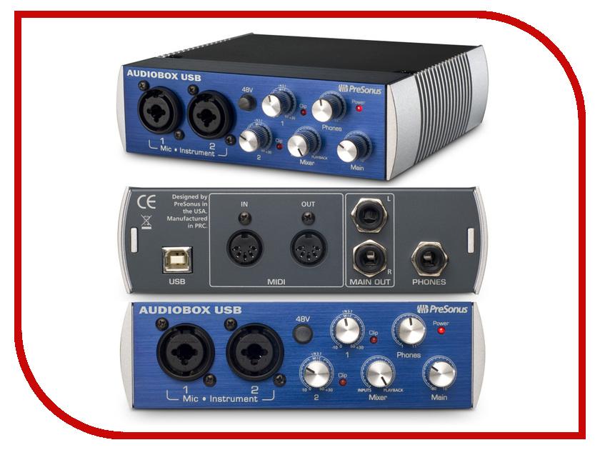 Звуковая карта PreSonus AudioBox USB<br>