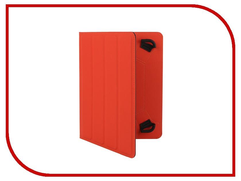 Аксессуар Чехол 9-10.1-inch DF Universal-05 Grey-Red