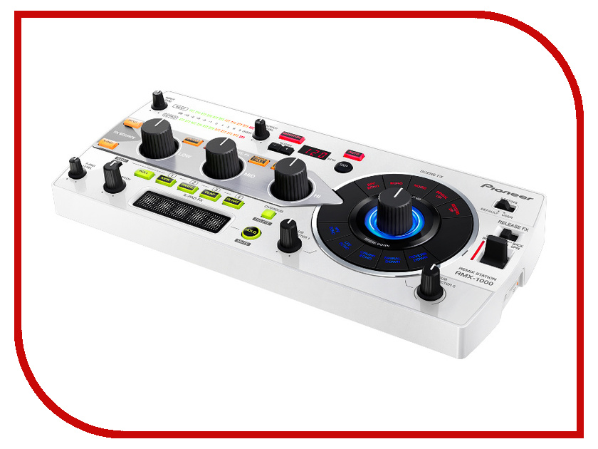 Пульт Pioneer RMX-1000-W DJ White