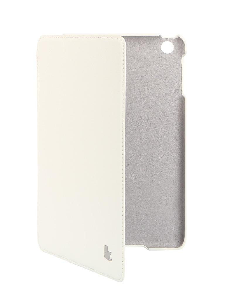 Аксессуар Чехол Jison Smart Leather Case для APPLE iPad mini/mini Retina White JS-IDM-07T00<br>