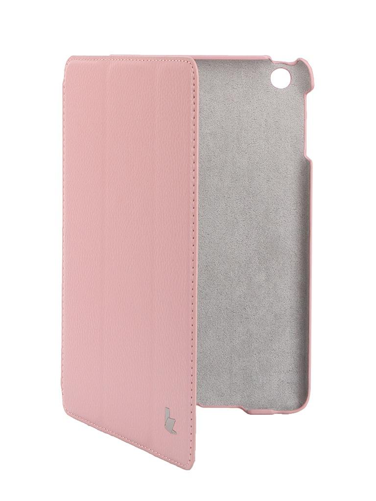 Аксессуар Чехол Jison Smart Leather Case для APPLE iPad mini/mini Retina Pink JS-IDM-07T35<br>