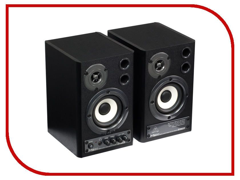 Колонка Behringer Digital Monitor Speakers MS20 колонка behringer digital monitor speakers ms20