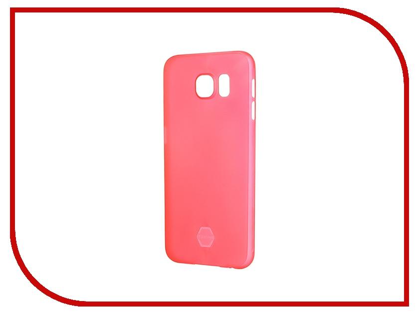 Аксессуар Чехол-накладка Samsung G920F Galaxy S6 Itskins Zero 360 SGS6-ZR360-REDD Red<br>