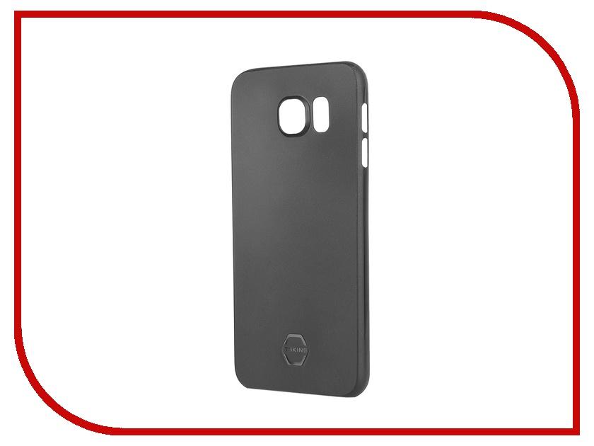 Аксессуар Чехол-накладка Samsung G920F Galaxy S6 Itskins Zero 360 SGS6-ZR360-BLCK Black<br>