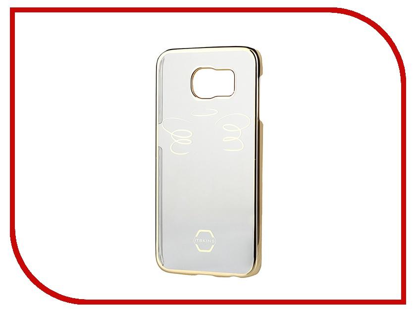 Аксессуар Чехол-накладка Samsung G920F Galaxy S6 Itskins Krom SGS6-NKROM-GLD1 Gold<br>