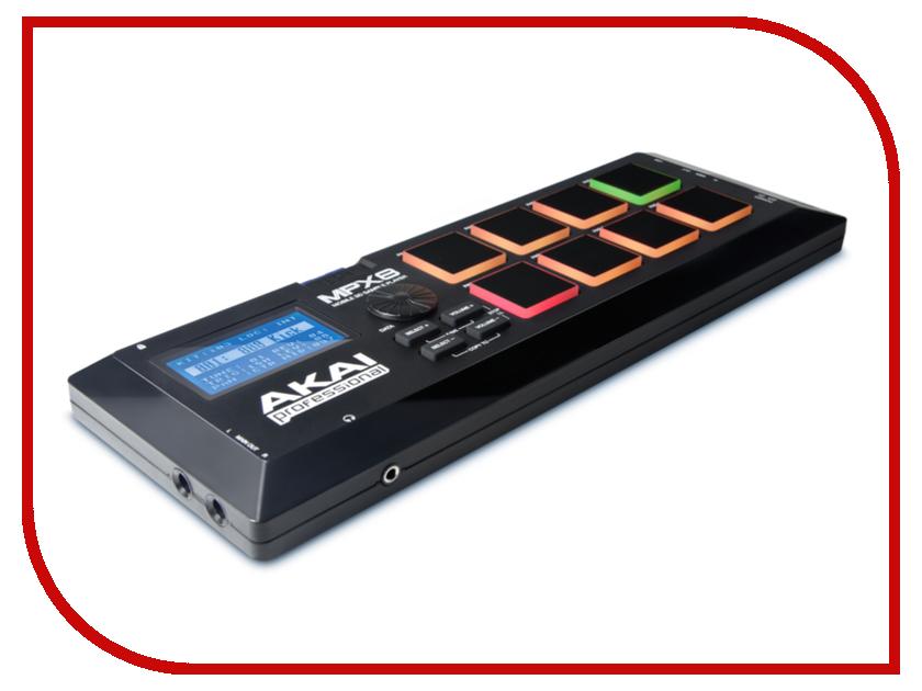 MIDI-контроллер AKAI pro MPX8<br>