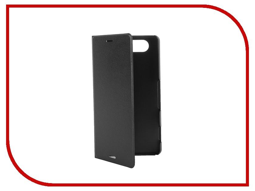 Аксессуар Чехол-книжка Sony Xperia Z3 Compact BROSCO PU Black Z3C-BOOK-03-BLACK<br>